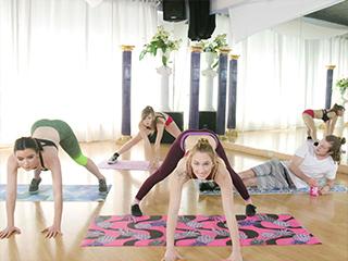 Perv Mom Yoga Class