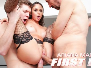Ariana Marie: First DP Makes Her Gape!