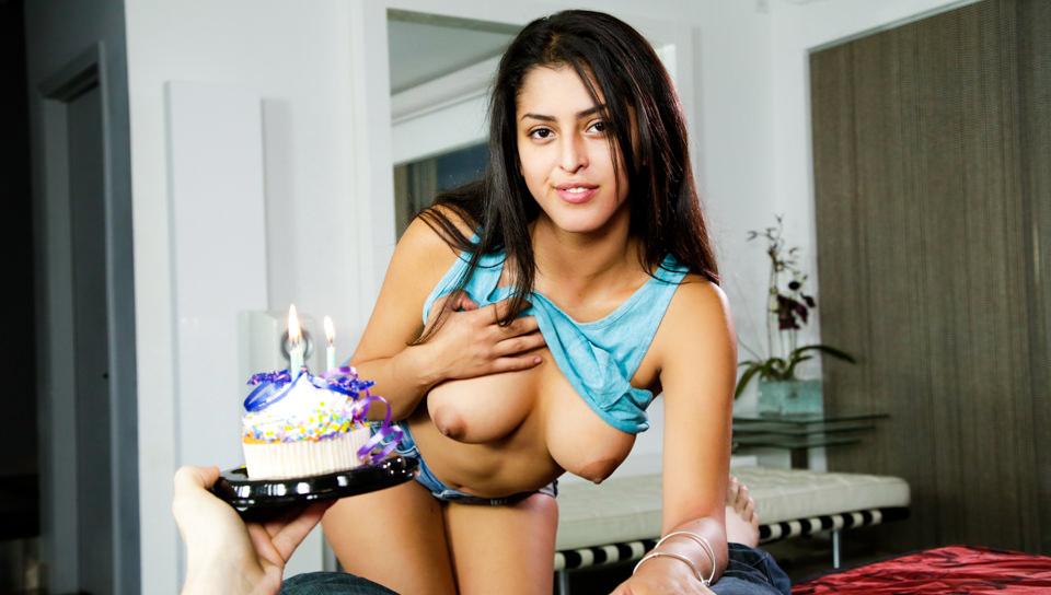 Cumshot Cupcake