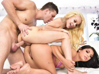 Elsa Jean And Gina Valentina Threesome Sex With Markus Dupree