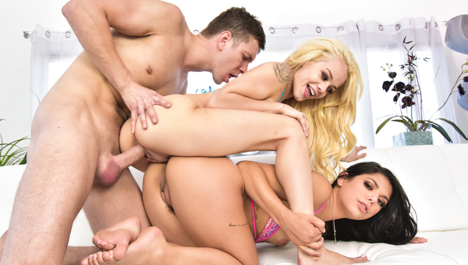 Elsa Jean And Gina Valentina Threesome Sex With Markus Dupree