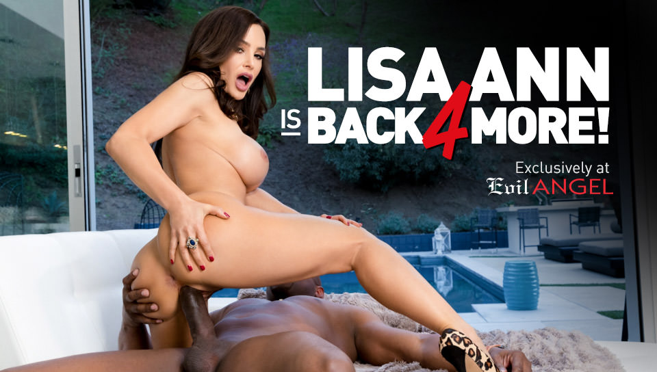 Lisa Ann's Interracial Casting Couch