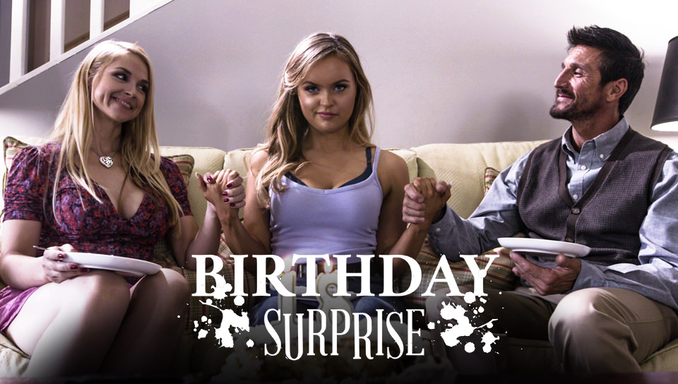 Sarah Vandella, River Fox And Tommy Gunn Birthday Surprise