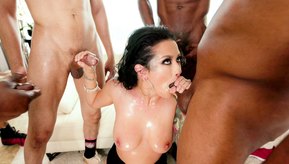Katrina Jade: Big Black Cock Blow Bang