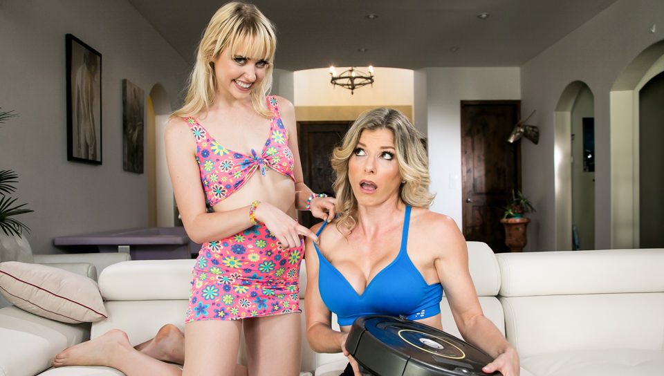 Chloe Cherry Cory Chase Making Mom Pay