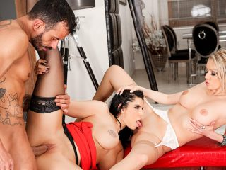 Anissa Kate 2 Threesomes: Anal, DP, Bi Girls, More