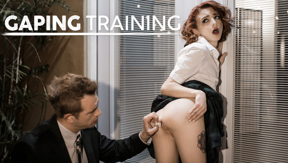 Lola Fae Gaping Training