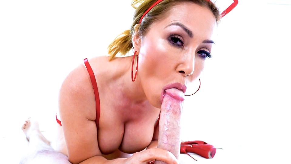 Big-Boob Asian MILF Cumslut Kianna #9