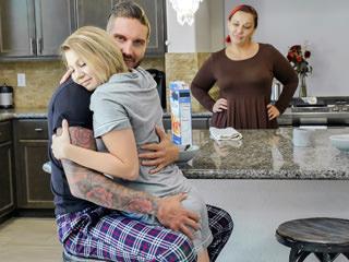 familystrokes cara may - Stepdaughter Bang After Breakfast