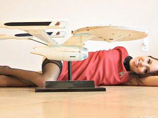 Lola Star Trek nude fun