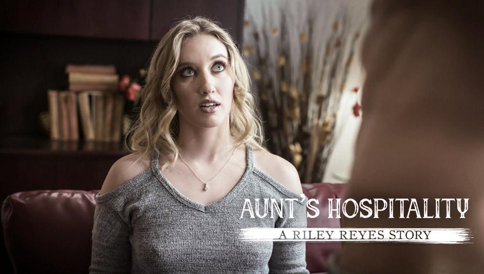 Aunt's Hospitality: A Riley Reyes Story, Scene #01