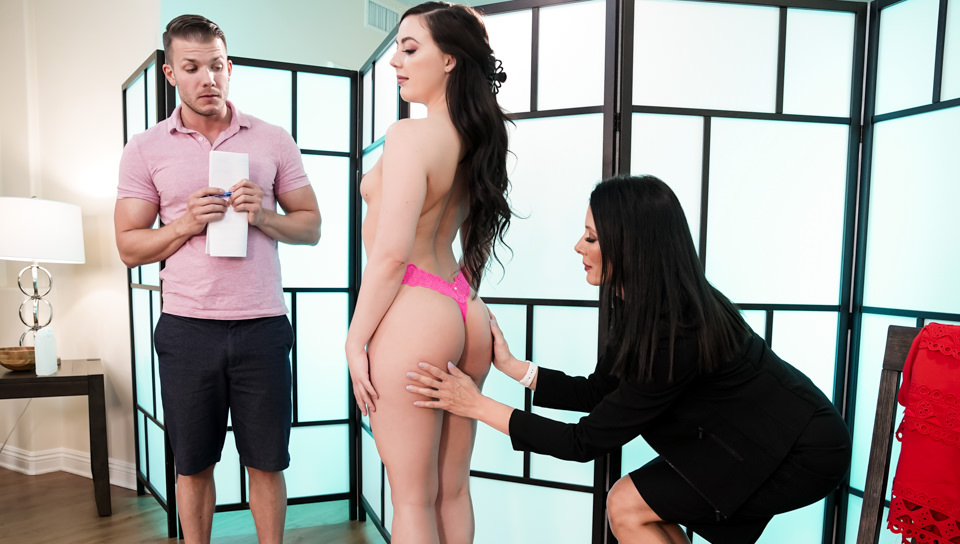 Trying Out The New Masseuse, Scene #01
