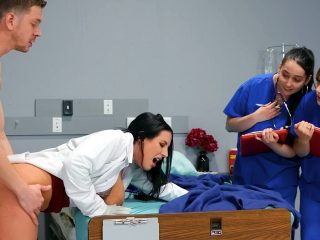 Doctor Angela White Shows Med Students How To Fuck
