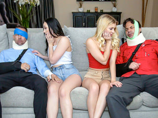 Megan Hughes and Riley Star Daughters Dad Medicine