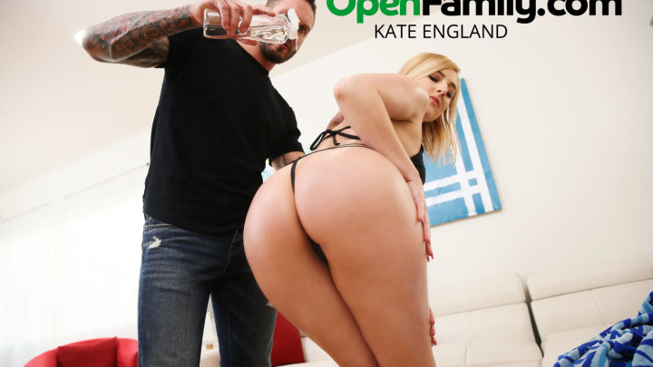 Kate England bangs her sister's man