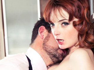 486266 320x240 - Housewife Lola Gatsby Drains Cum in the Kitchen