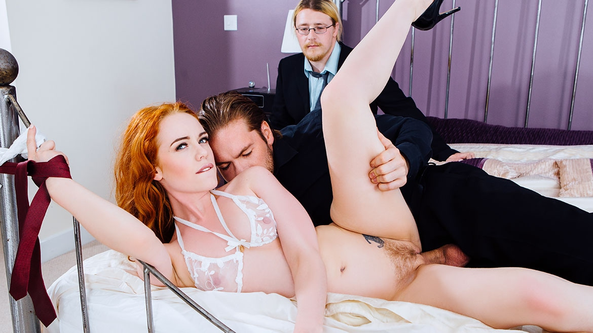Ella Hughes' Husband Is a Cuckold Devout Who Loves Watching Sperm Spilled O...