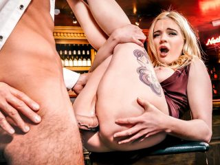 Stripper Danny Carly Rae Enjoys anal sex with the bartender
