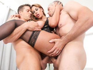 77669 04 01 320x240 - Big-Boob Bridgette's Anal/DP Threesome