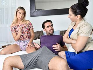 familystrokes paisley bennett - Supervised Stepsibling Sex