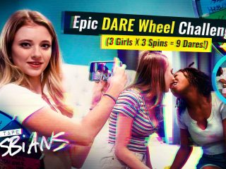 53423 01 01 320x240 - Epic DARE Wheel Challenge! (3 Girls x 3 Spins = 9 Dares!)