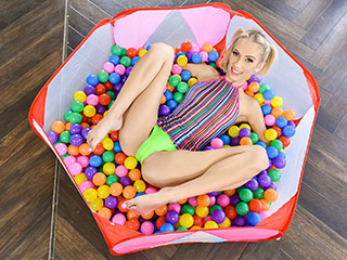 exxxtrasmall sky pierce - Sky Pierce Ball Pit Pleasure