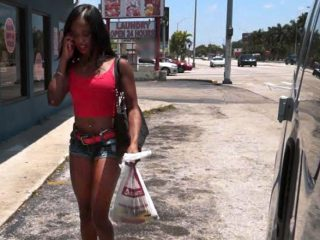 superbig 746 320x240 - Ghetto Black Girl Gives Up Ass for Cash on BangBus