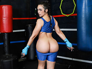 Kickboxing And Workout Big Booty Fuck Lilly Hall