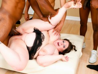 bm465 1 320x240 - Hard interracial gangbang for a bubbly brunette BBW