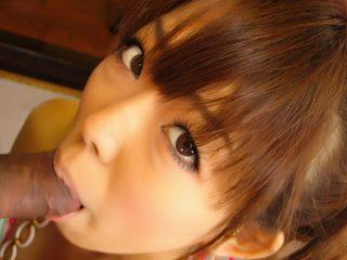 jpteen296 3 320x240 - Sweet Asian cutie sucks until he cums in her mouth