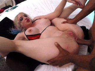 leya98 320x240 - Hardcore Anal Interracial fucking with Leya Falcon