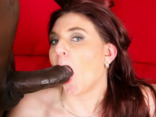 mature71 320x240 - Horny mature brunette gets the BBC to cum on her face