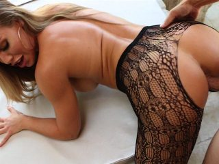 Nicole Aniston shows off her amazing ass then gets a good fuckin