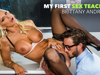 Kristen Connor (Brittany Andrews) gets it on while the class bully watches