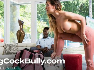 Cherie DeVille pleases husbanb's boss