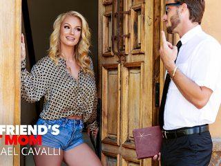 Rachael Cavalli fucks a virgin friend of her son