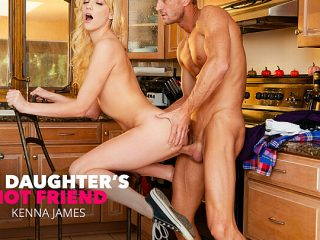Older guys make Kenna James hot and horny