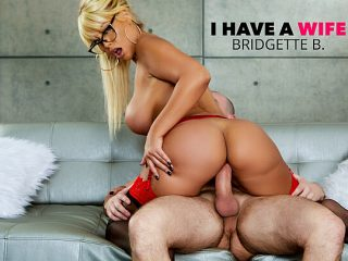 Bridgette B. fucks married man on couch