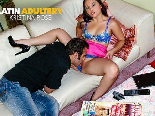 Kristina Rose cheats on husband