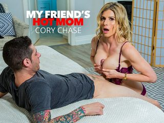 Cory Chase makes her son's friend earn his stay