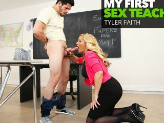 Prof. Tyler Faith gets a big cock