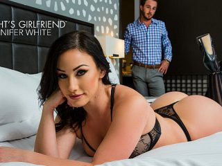 Jennifer White shows first timer a good time with her hot body