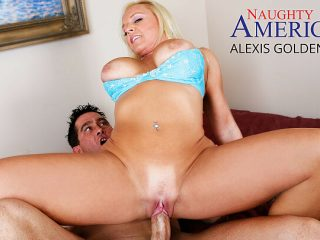 Alexis Golden gets a big dick