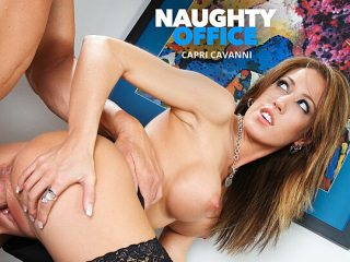 Capri Cavalli gets fucked by a huge cock