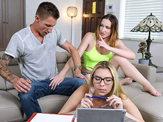 stepsiblings everly haze and sophia sweet - We Don't Have To Choose