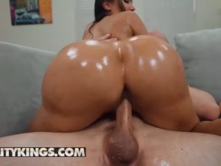 Oily Bubble Butt Pawg Lela Star Riding Dick