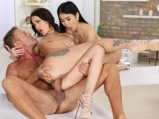 82882 04 01 1 320x240 - Rocco: Sex Analyst #08, Scene #04 Alina Crystal, Kris The Foxx, Rocco Siffredi