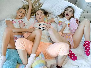bestfriendsfuck 2020 026 - Slumber Party Shenannigans Emma Hix, Katie Kush and Sera Ryder