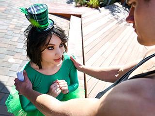 exxxtrasmall liv wild - Cute Little Green Leprechaun Liv Wild