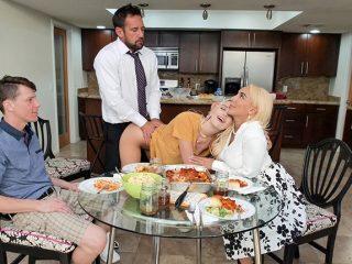 freeusefantasy kenna james and kylie kingston thumb 320x240 - Step Family Dinner Kenna James and Kylie Kingston